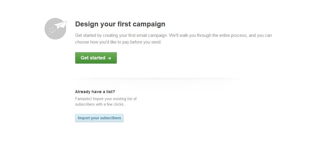 Design email campaign